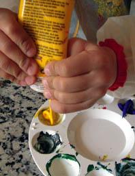 acryltube-gelb