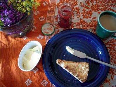 breakfast frühling