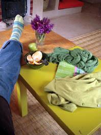 frühlingsgrün relax