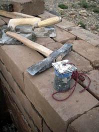 lehmziegelwerkzeug