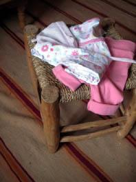 rosa kleider