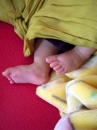 HT 3 months feet