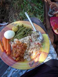 sommer picnic salat