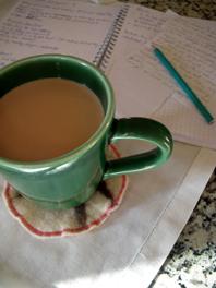comfort morning read notiz