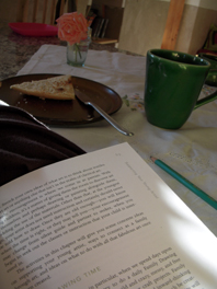comfort morning read