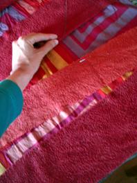 handm teppich handt stecken