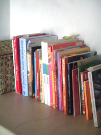 spring clean books