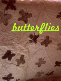 print butterflies
