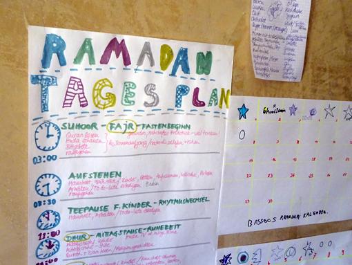 ramadan plan