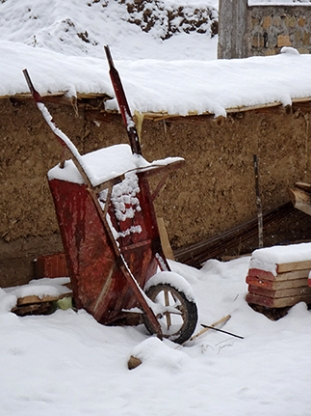 schnee karre