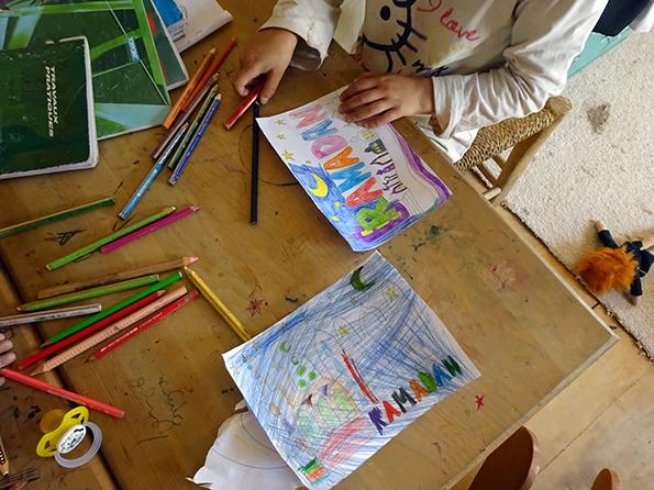 kids work malen