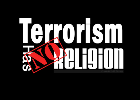 terrorism no religion